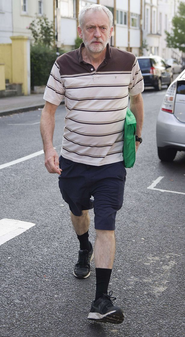 Corbyn shorts